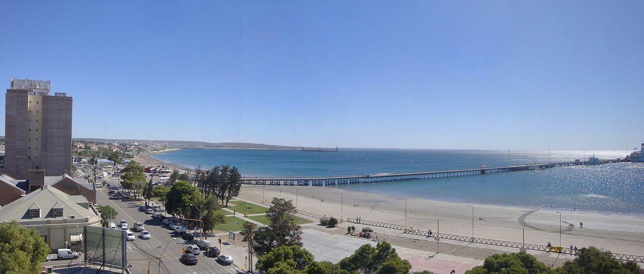 Vista Panorámica de Puerto Madryn