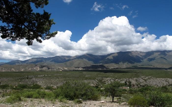 Paisaje de Amaicha del Valle