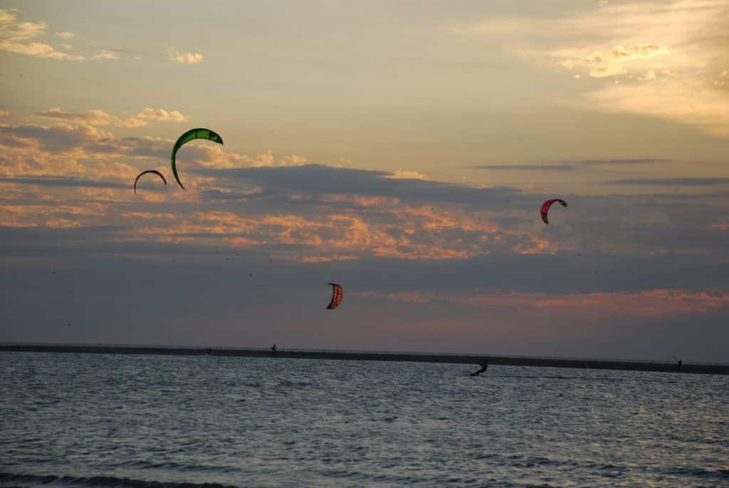 Kitesurf en Punta Rasa