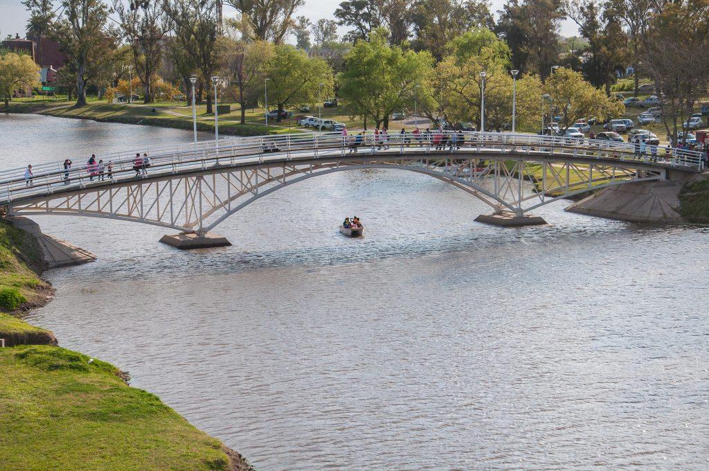 Puente sobre Río Gualeguay