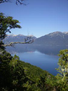 Lago Nahuel Huapi desde el mirador de la península de Quetrihué.