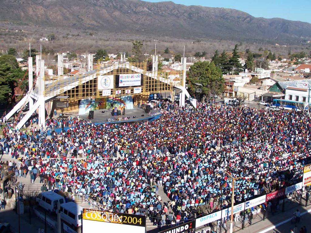 Festival de Cosquín, Valle de Punilla