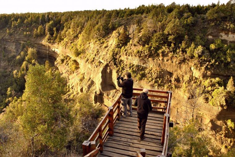 Mirador de las Cascadas Nant y Fall