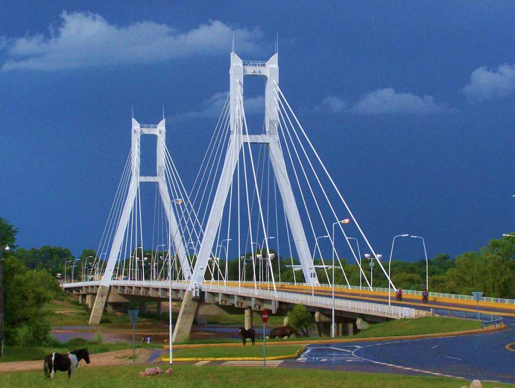 Puente Colgante de la ciudad de Río Cuarto