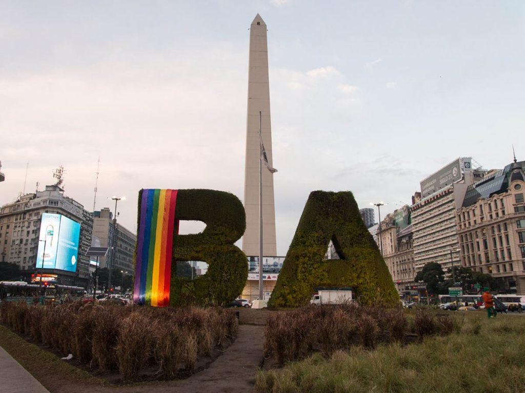 El Obelisco de la ciudad de Buenos Aires