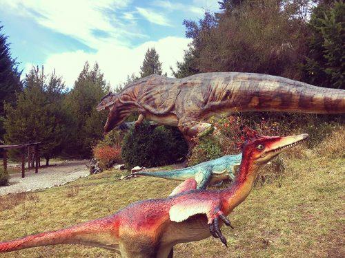 Parque Nahuelito, el fantástico mundo de los Dinosaurios