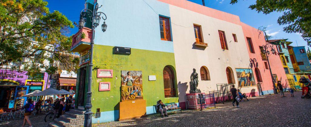 Caminito de la Boca - Ciudad de Buenos Aires - foto:Turismo BUE