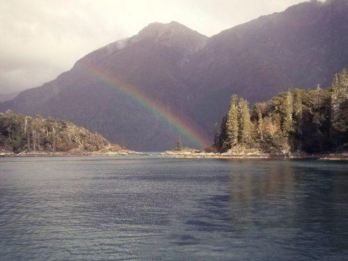 El encuentro   Otoño en 7 lagos