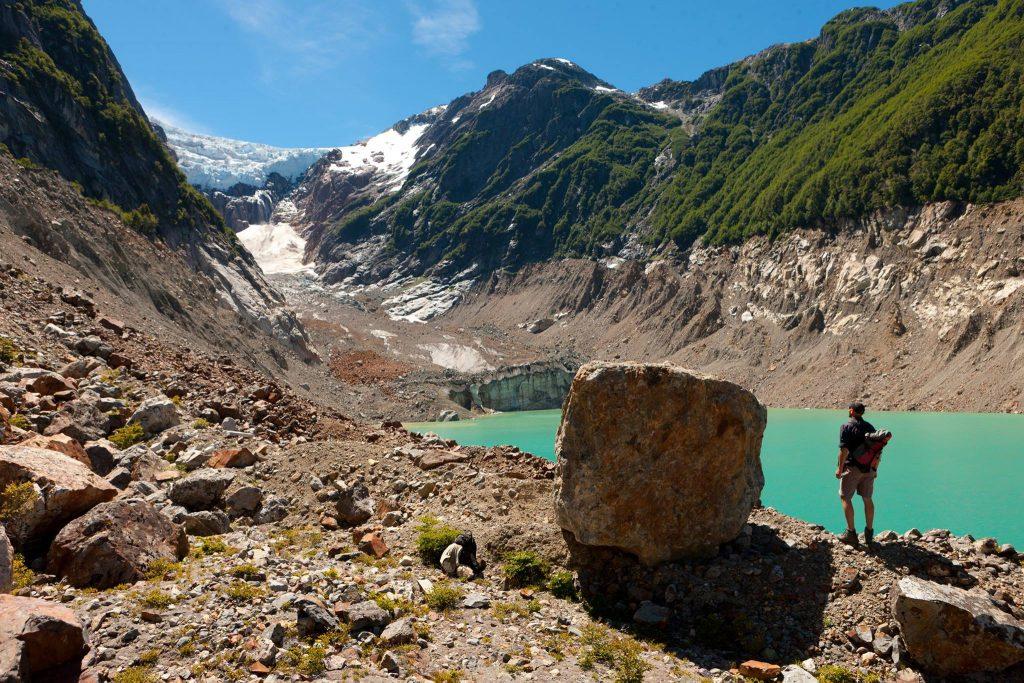 Glaciar Torrecillas, Chubut
