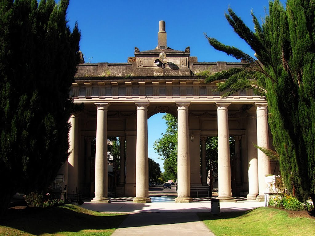 Cementerio de la loma mar del plata tripin argentina for Cementerio jardin del mar
