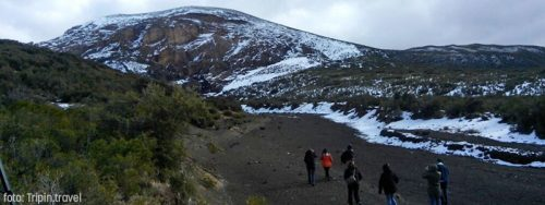 El volcán Malacara en Malargüe