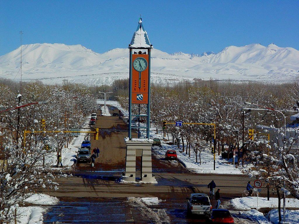 Malargüe en invierno, Mendoza