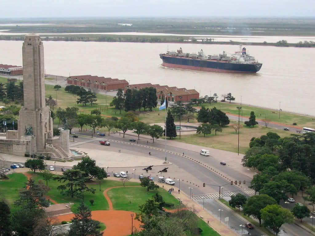 Parque Nacional a la Bandera, Rosario