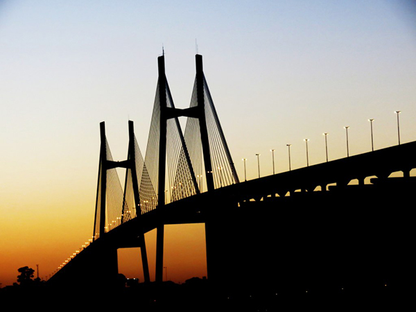 Puente Rosario Victoria, Rosario