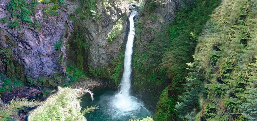 Cascada Río Bonito, Villa La Angostura
