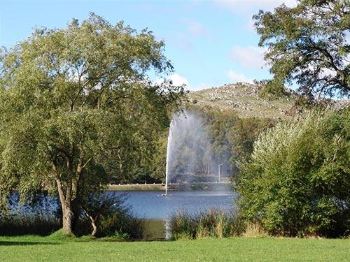 Lago del Fuerte en Tandil