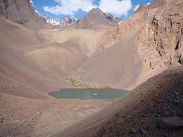 Laguna Campanario, Tunuyan, Mendoza