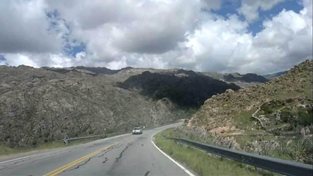 Camino de las Altas Cumbres, Córdoba