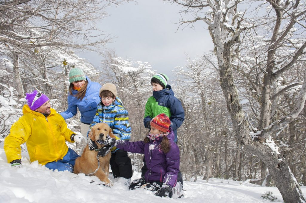 Batea Mahuída, Ski, Villa Pehuenia, Neuquén
