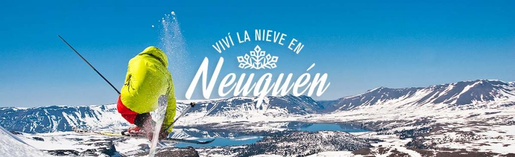 Viví la nieve en Neuquén