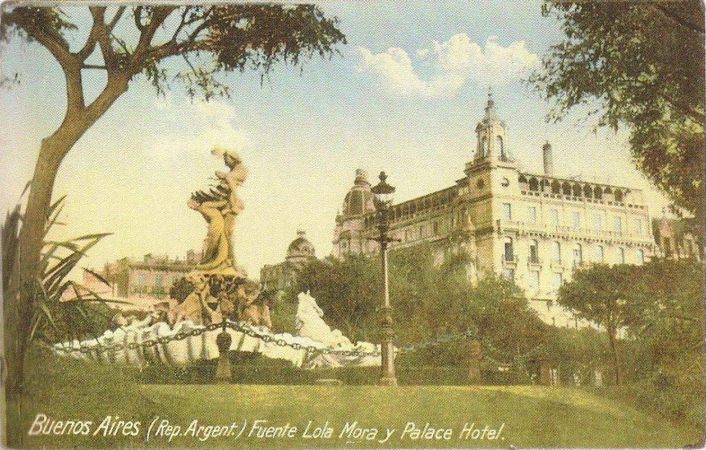 Fuente de las Nereidas, Lola Mora, Ubicación original, Buenos Aires