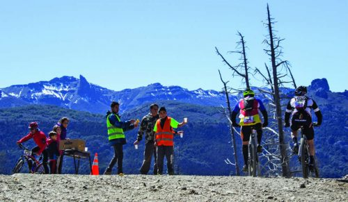Gran rally de mountain bike del Sur