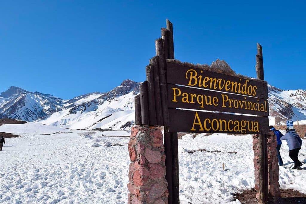 Entrada al Parque Provincial Aconcagua - Mendoza