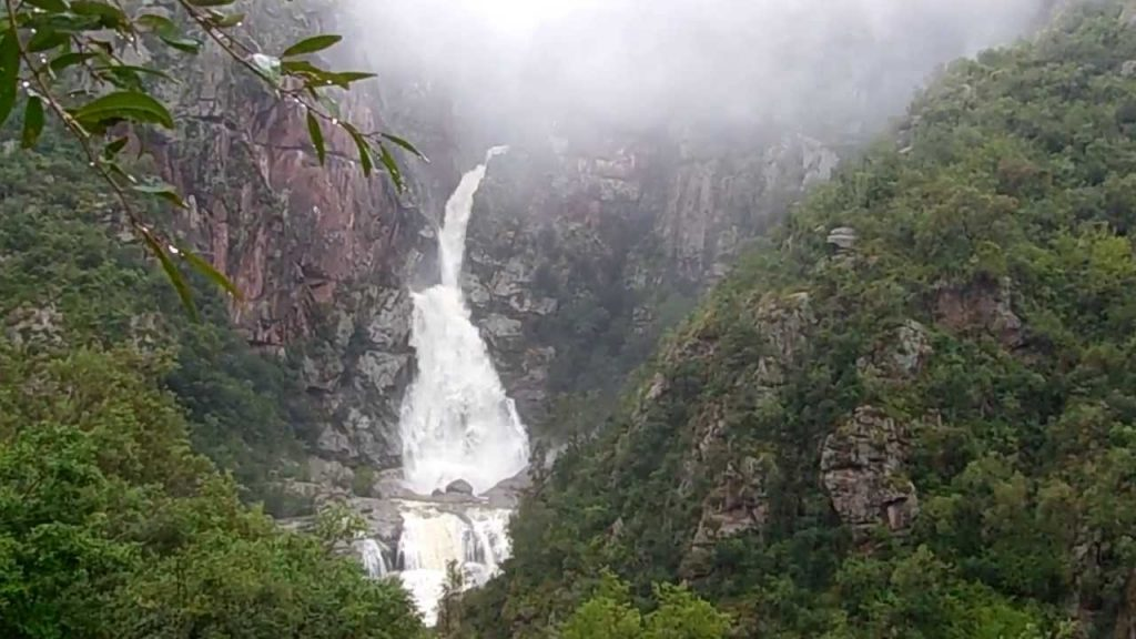 cascada los chorrillos, Tanti, Córdoba