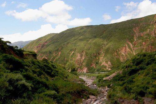 La Quebrada de Escoipe, un paraíso natural de Salta