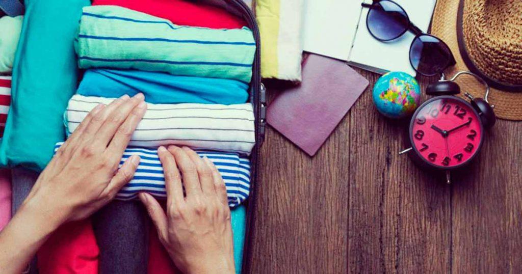 5 pasos para armar una valija funcional