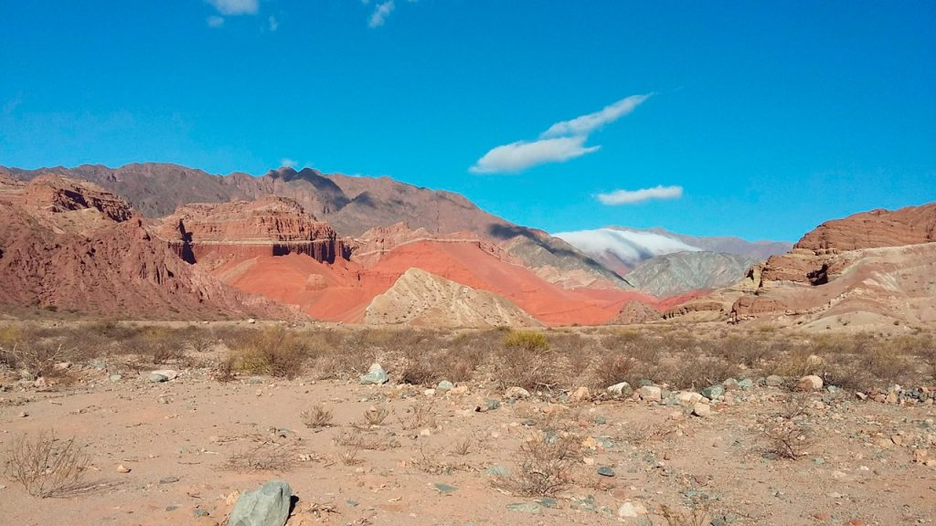 La Yesera -Quebrada de las Conchas - Salta - foto: MoraLAF