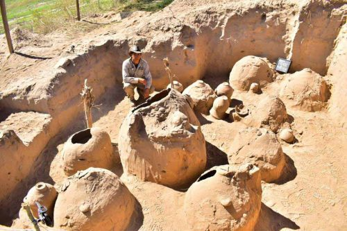 Descubren un antiguo cementerio prehispánico cerca de Andalgalá