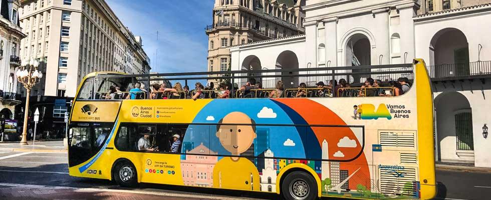 Bus Turístico de Buenos Aires - @buenosairestravel